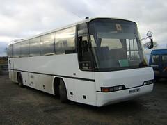 Sapwell M429 TWF (quicksilver coaches) Tags: dennis javelin neoplan transliner m429twf sapwell haversham