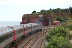 A touch of Valenta? | Dawlish Warren (Western Railway Photography) Tags: class 43 hst high speed train intercity 125 ic125 western region dawlish warren south devon seawall crosscountry trains 43321 43304