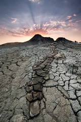 yellow brick road (crossland_alan) Tags: sunset texture canon baku azerbaijan volcanoes efs1022mm gobustan mudvolcanoes 70d