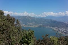 Pokhara et les Annapurna's (benoitcops) Tags: pokhara nepalese annapurnas ricohpentax ricoh ricohgr gr mountain montagne lac lake phewa tal phewatal