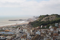 Pier (My photos live here) Tags: sea beach pier hastings east sussex old town urban seaside england holiday resport houses buildings canon eos 1000d