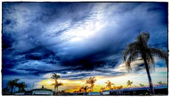 2016-08-27_P8270022_3_4_tonpaintmin_Sunset Clouds,Clearwater,Fl (robertlesterphotography) Tags: 12x4028 aroundthehouse aug272016 clearwaterfl clouds hdr m1 sunsetclouds