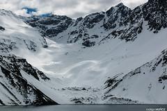Cordillera de los Andes (rockdrigomunoz) Tags: naturaleza nieve montaa laguna nubes