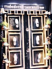 Maledetti Toscani!!! (elirus1) Tags: simpatia montepulciano leather bigshoes shoes tuscany italia vinorosso brunello montalcino toscana fantasia creazioni