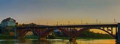 The Old Bridge at sunset (Matja Skrinar) Tags: 1025fav 100v10f