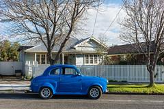 Seddon (Westographer) Tags: seddon melbourne australia westernsuburbs suburbia streetscape parked austina30 house home winter