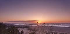 Kolberg Sunset (JohnnyKa$h) Tags: sel 1855 kolberg koobrzeg poland balticsea ostsee beach sunset sel1855