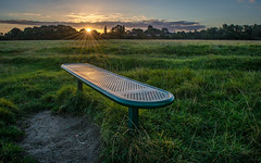 Sit And Watch The Sun Rise (Gemma Photo Freak) Tags: bench sunrise sun rise hobmoor moor york nikon d7100 kit lens 1855 yorkshire uk north