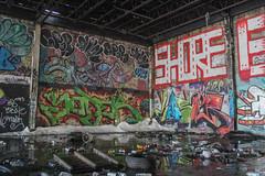 Yoder, Loser, Snarf, Ript, Spar, Chef, Shore (NJphotograffer) Tags: graffiti graff new jersey nj shortys diy skatepark yoder loser aids crew snarf 2w 2wcrew ript hsc spar chef shore roller