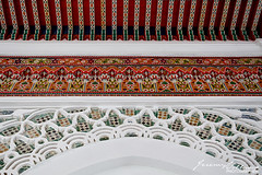 Kasbah Mosque, Tangier (jeremyvillasis) Tags: tangier tanger tanja kasbah medina travel morocco moroccan northafrica africa architecture moorish middleeastern mosque mosquee mosqueedelakasbah design ceiling art culture