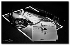 Captured Time (DeeGee1966) Tags: blackandwhite bw stilllife macro history monochrome blackwhite time past macrolens setpiece tabletopphotography canoneos500d canonef50mmf25macrolens