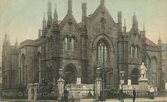 Myrtle Street Baptist Chapel, Myrtle Street/Hope Street, Liverpool. Postcard, sent 1905. (philipgmayer - Thanks for a lot of views.) Tags: church liverpool postcard 1000