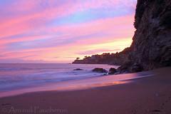7258 (Arnaud Faucheron) Tags: sea mer sunlight france water rock soleil coucher paysage vague loire marais plage rocher couchersoleil loireatlantique guerande