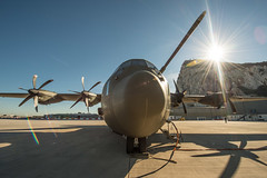 RAF C130C5P ZH883, RAF Gibraltar (David Parody) Tags: david m parody 2014