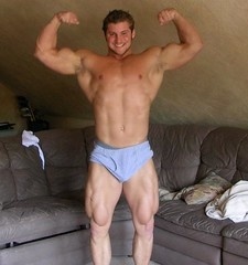 chaz4 (davidjdowning) Tags: men muscles muscle muscular bodybuilding buff bodybuilder biceps