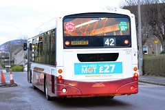 157 (Callum's Buses & Stuff) Tags: road bus buses volvo edinburgh kings 42 lothian madder lothianbuses edinburghbus lothianbus b7rle madderandwhite madderwhite busesedinburgh sn57dcz buseslothianbuses