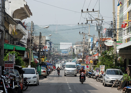 Street, Hua Hin