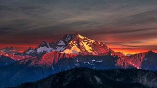 Harts Pass Sunrise