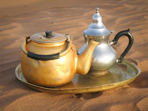 Alles wird entschleunigt - vor allem beim gemütlichen Teetrinken