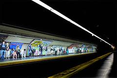 MADRID-Metro (ikimilikili-klik) Tags: madrid espaa station subway spain metro espagne estacin geltokia nikkor28mm d700 nikond700 28mmf18g