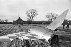 Jan 5 1966 Helmingham14_ (6) (KindredSpiritUK) Tags: suffolk crash aircraft lightning