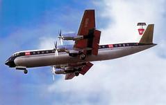 BEA Vanguard G-APES, 1960s (Proplinerman) Tags: bea aircraft airliner turboprop vanguard 1965 vickers gapes propliner vickersvanguard
