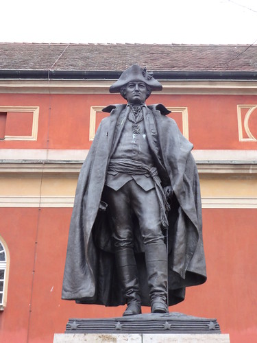 1996 Potsdam General Friedrich Wilhelm Freiherr von Steuben (1730-1794) von Albert Jägers Bronze Schloßstraße in 14467
