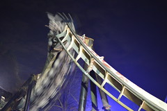 Last Night of its 20th Anniversary Year (CoasterMadMatt) Tags: park november autumn england motion blur west english up night speed dark out season photography lights amusement nikon slow ride time photos towers illumination days illuminated resort forbidden motionblur photographs valley bm shutter roller theme amusementpark rides rollercoaster lit inverted coaster staffordshire alton themepark westmidlands altontowers attraction coasters daysout nemesis midlands rollercoasters slowshutterspeed 2014 litup inthedark nikond3200 staffs nighttimephotography d3200 forbiddenvalley invertedrollercoaster attrations altontowersresort coastermadmatt november2014 coastermadmattphotography altontowersinthedark