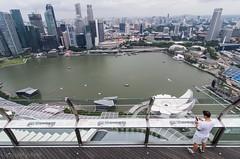 Singapur (pdorta) Tags: city skyline arquitectura singapore ciudad lagoon cbd singapur rascacielos granangular bahía