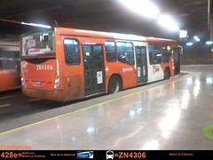 ZN4306 428e (franco.subus) Tags: santiago de 4 uno gran express sa marcopolo unidad viale transantiago troncal zn4306