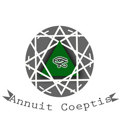 Annuit Coeptis (alfonsobarba066) Tags: logo triangle hipster illuminati annuit coeptis