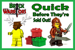 Holiday Gift Guide From A-Z: Q is for Quick Before They're Sold Out! (MandaBW) Tags: santa christmas holiday black reindeer lego sale gift presents guide stocking minifigs monday friday limited edition cyber minifigure deals stuffers draxin