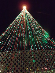 tree of lights (ThrghMyEyes) Tags: christmaslights scottsdale xmaslights treeoflights scattsdalearizona
