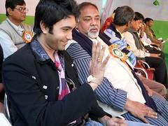 Actor Sagar Dutta (184) (Sagar Actor) Tags: bookfair memari burdwan