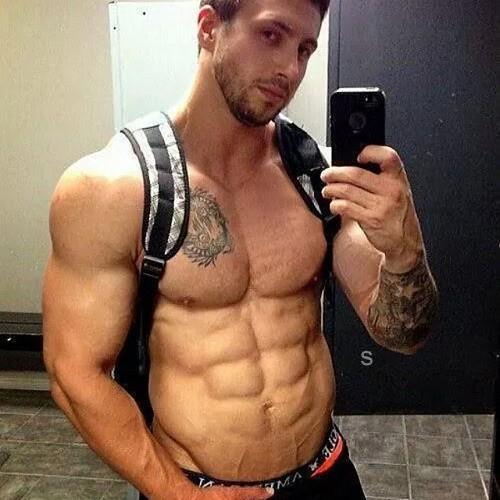Big black bulging muscle men naked movie 8
