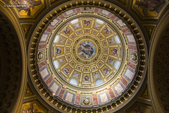 The roof of Basilica of St. Stephens (v.Haramustek) Tags: roof church saint hungary basilica budapest holly stephans