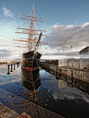 Discovery Reflections. (stonefaction) Tags: scott point scotland ship dundee explorer captain discovery antarctic rrs explored