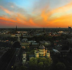 407639943913010 (stephanigasiewski9097) Tags: park sunset sky church night bravo dusk horizon latvia explore russian 35 orthodox riga daugava magicdonkey