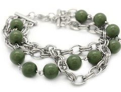 Glimpse of Malibu Green Bracelet P9431A-2