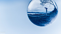 Blue Telescope (Ukelens) Tags: blue light shadow canon lights schweiz switzerland licht shadows crystal swiss telescope bern blau lightshow schatten lighteffects lichter kugel crystalball lightroom lighteffect kristall teleskop lichteffekte lichteffekt berncity kristallkugel ukelens