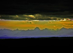 150110 Sturm vor den Berchtesgadener Alpen (waidlerwiki) Tags: wolken sturm bayerischerwald watzmann alpenblick berchtesgadeneralpen