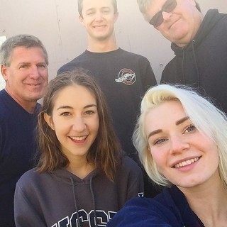 Post dive selfies with the Aquanautics crew! #selfiesunday #sundayfunday #aquanautics #scubadiving