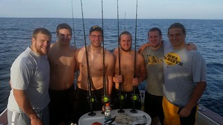 Iowa State Football Fishing with AC Charters