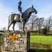A sculpture of Máel Seachnaill in Trim, Co. Meath, by James McKenna-REF-101053