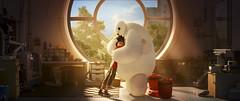 BIG HERO 6 (Unification France) Tags: window hug disney animation hiro bighero6 baymax