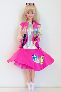 1987 Barbie and the BiBops Barbie Doll #4931