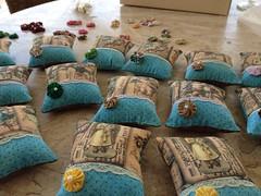 Chaveiros de Anjos! (Verachitta) Tags: fuxico anjos tecidos lembrancinhas chaveiros perfumados saches