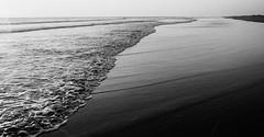 mar de plata (el cuervo y el jaguar) Tags: sea blancoynegro film mar nikon 28mm f100 playa cielo ais proimage puertoarista