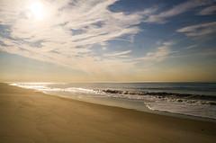 Morning Beach (Lojones13) Tags: ocean sea sky cloud newyork beach water landscape coast seaside sand outdoor shore jonesbeach