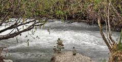 Life Is A Balancing Act (jack4pics) Tags: alaska flow spring rocks balance